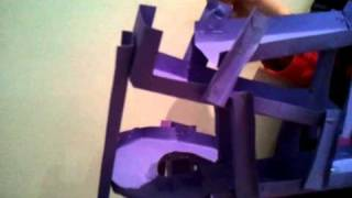 Cardboard Marble Rollercoaster