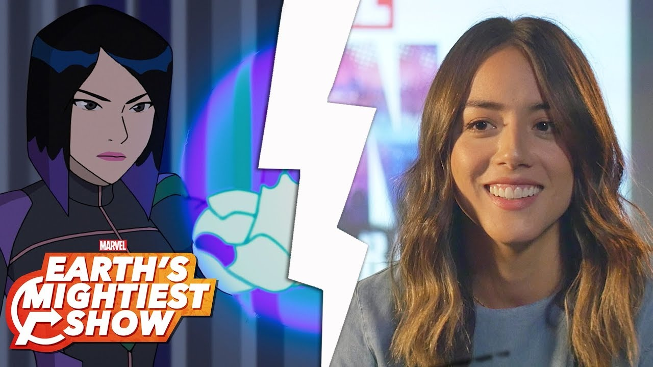Get to know Quake from Marvel Rising!   Earth's Mightiest Show Bonus