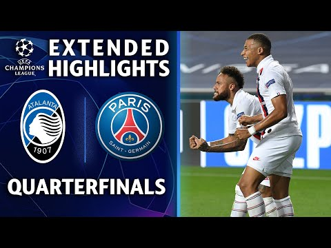 Atalanta vs. PSG | Champions League Quarterfinal Highlights | UCL on CBS Sports