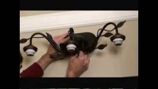 How To Install A Bathroom Light Fixture