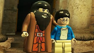 LEGO Harry Potter - Part 1 - Your'e A Wizard Harry! (Years 1-4 Gameplay Walkthrough)