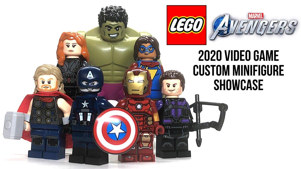 LEGO Avengers 2020 Video Game Custom Minifigure Showcase