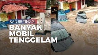 Akses Tangerang-Jakarta Putus, Ciledug Indah Banjir Tinggi, Banyak Mobil Hanyut