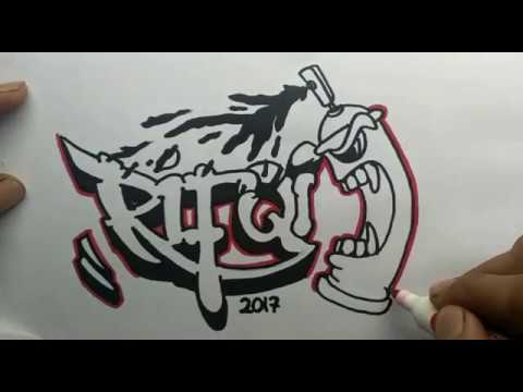 Reques graffiti nama Rifqi YouTube