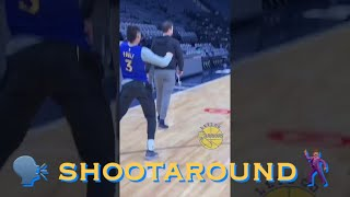 [HD] Jordan Poole popping to Prince music + MORE at Warriors (2-6) morning shootaround v MIN Twolves