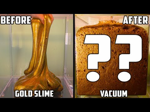 Thumbnail: Gold Slime in a Vacuum Chamber