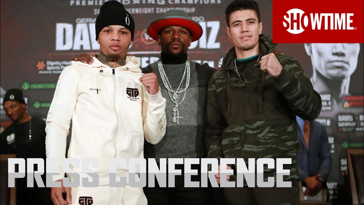 Davis vs. Ruiz: Fight Week Press Conference | SHOWTIME CHAMPIONSHIP BOXING