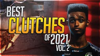 THE BEST PRO CLUTCHES OF 2021 #2! (SICK PLAYS) - CS:GO