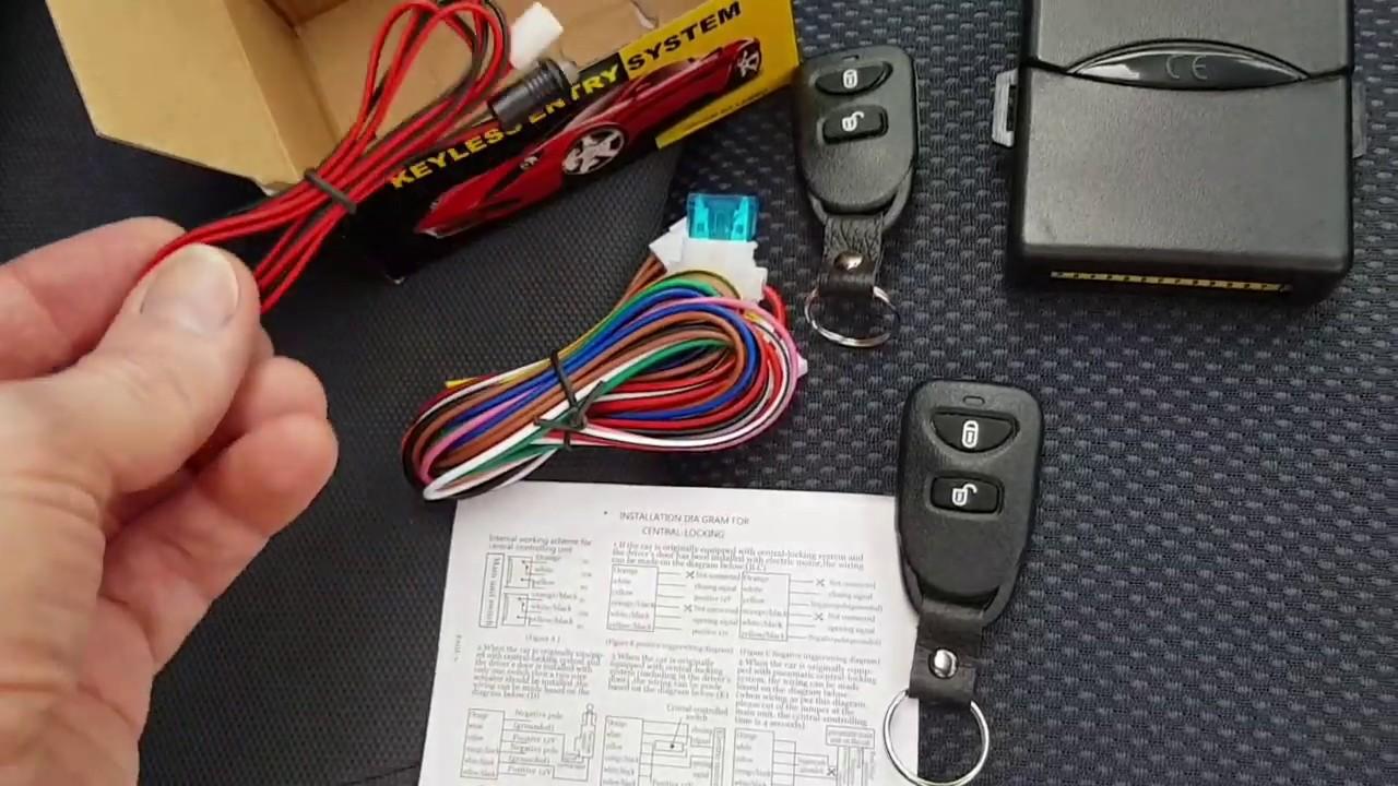 [QNCB_7524]  Honda Jazz (Fit) Mk1 (2002-2008) - Remote Central Locking Upgrade - YouTube   Wiring Diagram Honda Jazz Idsi      YouTube