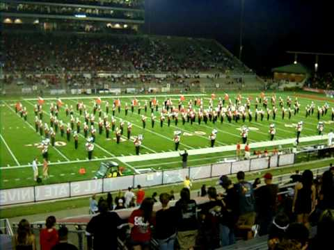 BSU Marching Band 2009 - Michael Jackson Show