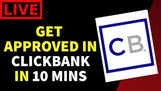 How To Create Clickbank Account In India,Pakistan,Bangladesh...