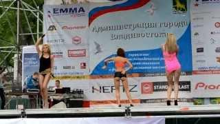 Go-GO на  празднике автозвука и тюнинга во Владивостоке