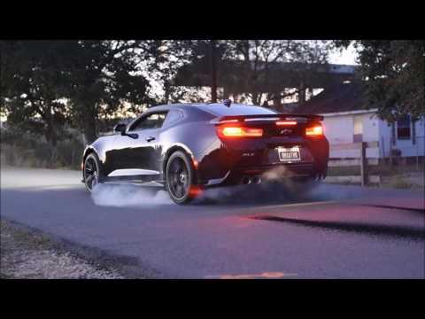 Line Lock Test On My 2017 Camaro Zl1 Youtube