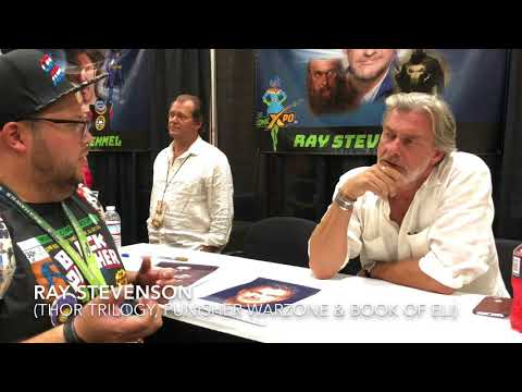 Ray Stevenson (Thor & Punisher Warzone) Palm Springs Comic Xpo 2018 Interview