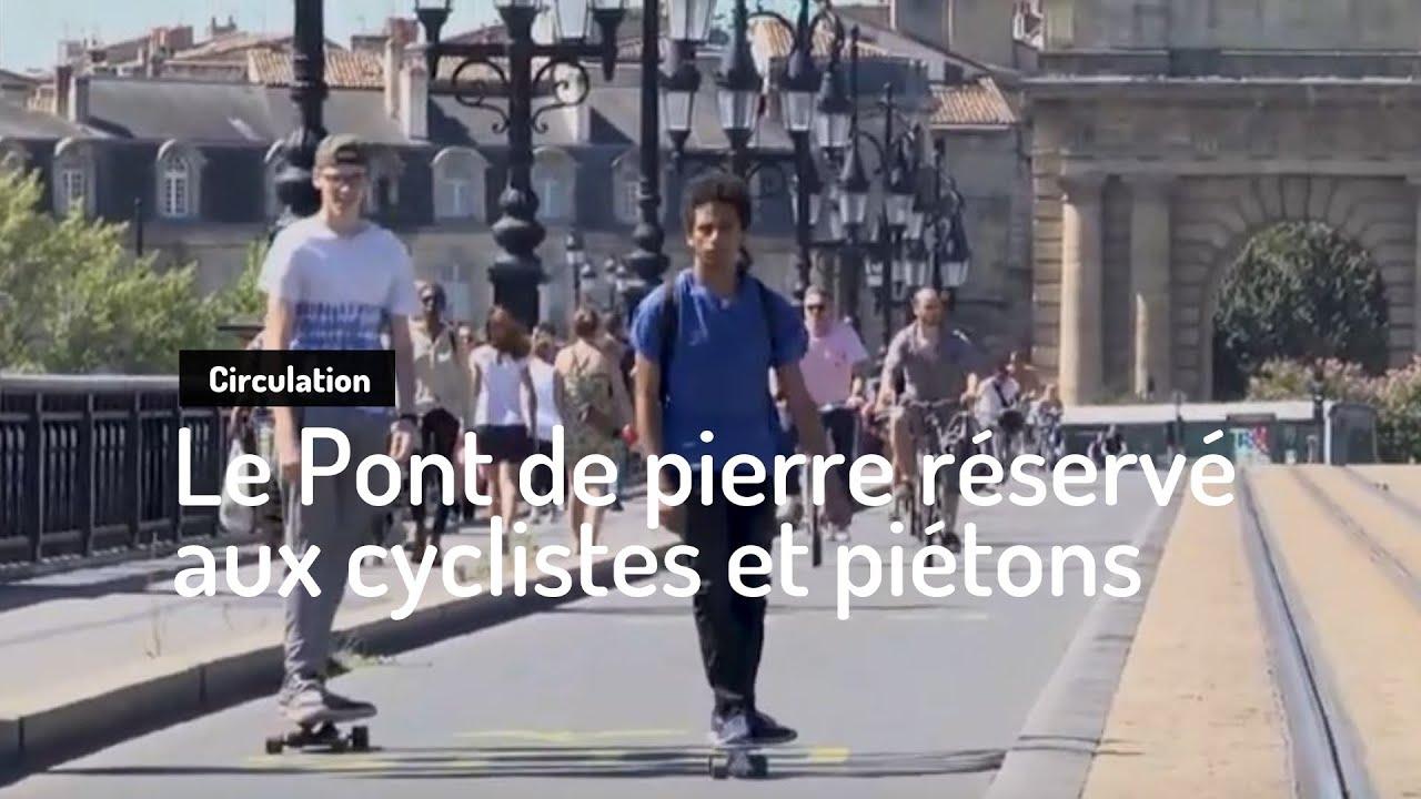Expérimentation Pont de pierre - Bordeaux Métropole