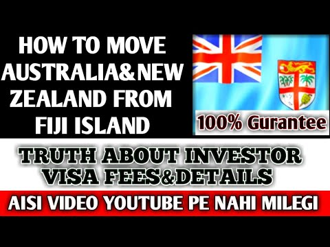 TRUTH FIJI INVESTMENT FEE DETAILS || HOW TO GO AUS JAPAN SOUTH KOREA || DETAILS OF VISA DOCUMENTS
