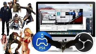 HOW TO RECORD PS4 GAMEPLAY ON IMAC - NO CAPTURE CARD - WORKING AUG 2016