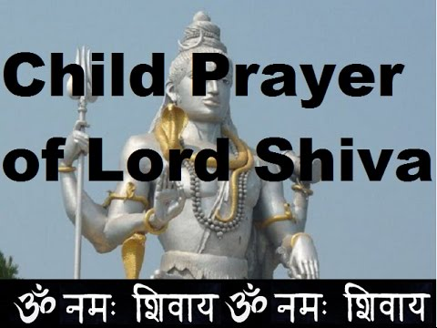 Beautiful Prayer of Lord Shiva by a Child  | Hindi |  | हिंदी |