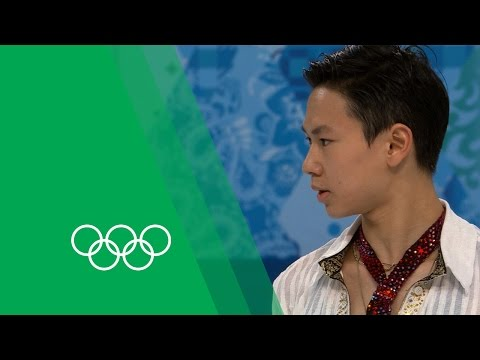 Denis Ten relives and analyses his Sochi performance | Olympic Rewind