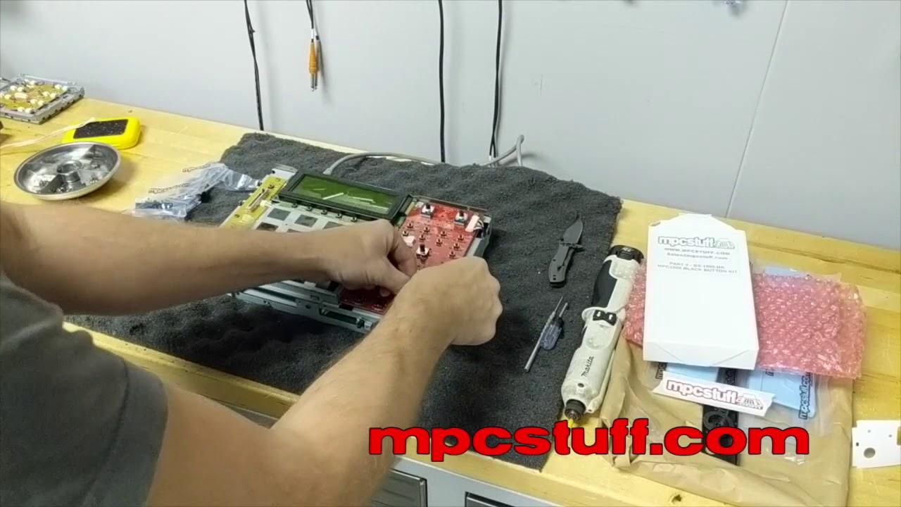 Akai MPC Full Repair Upgrade and Refurbishment from MPCstuff com