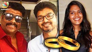 Parthiban invites Vijay for his daughter's wedding | Hot Tamil Cinema News | Keerthana