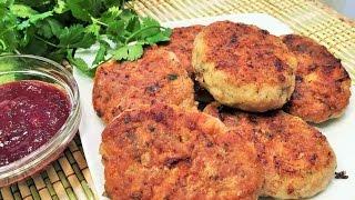 КОТЛЕТЫ КУРИНЫЕ по-грузински. Chicken Burgers Georgian style