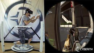 戰地4在線「虛擬現實」實測,最強體感設備「Cyberith Virtualizer」- Battlefield 4 in VR - 時間邊界 thumbnail