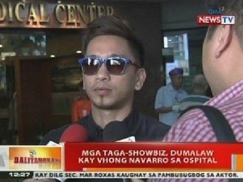 BT: Mga taga-showbiz, dumalaw kay Vhong Navarro sa ospital