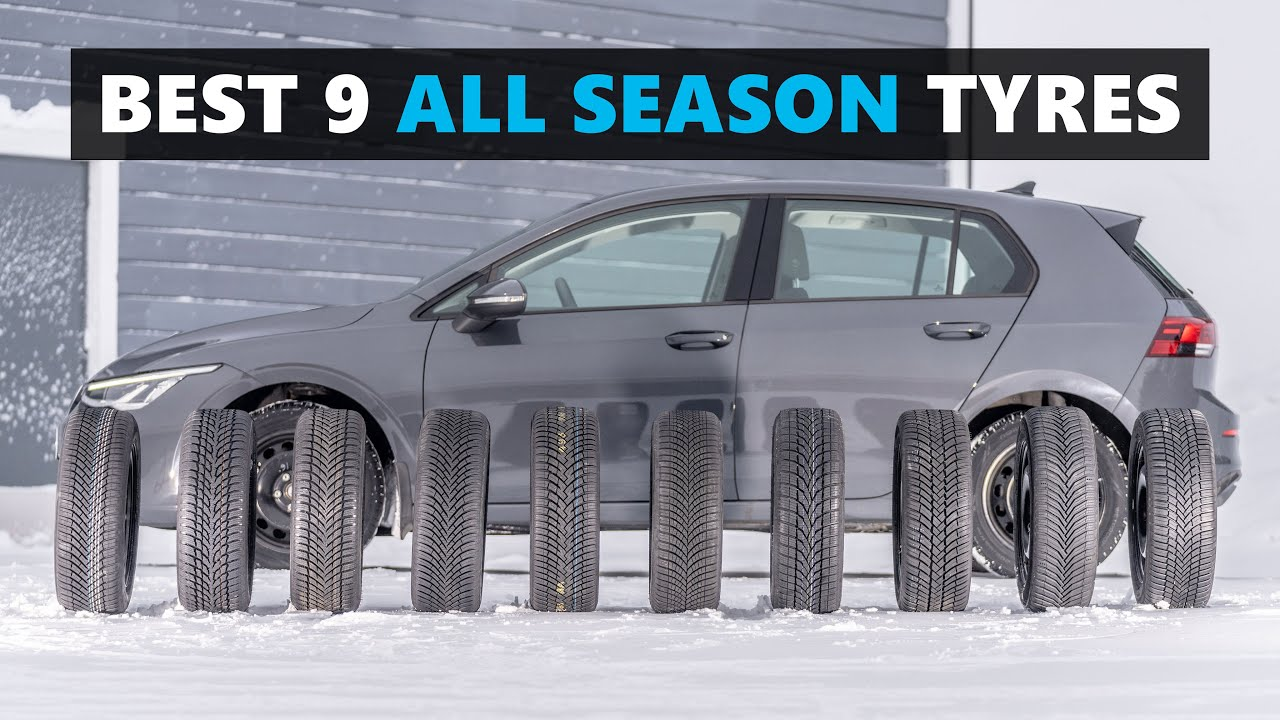 Download 9 of the BEST All Season / All Weather Tires for 2021