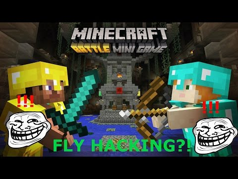 Minecraft Battle Mode Ps3 #3| THEY WERE FLY HACKING?!| Ben PLAYS Ep. 1
