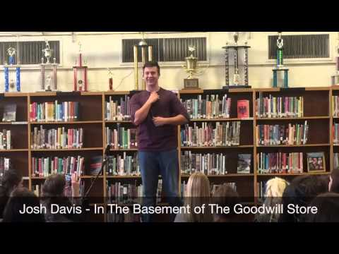 Josh Davis - In The Basement of The Goodwill Store - Poetry Out Loud 2016