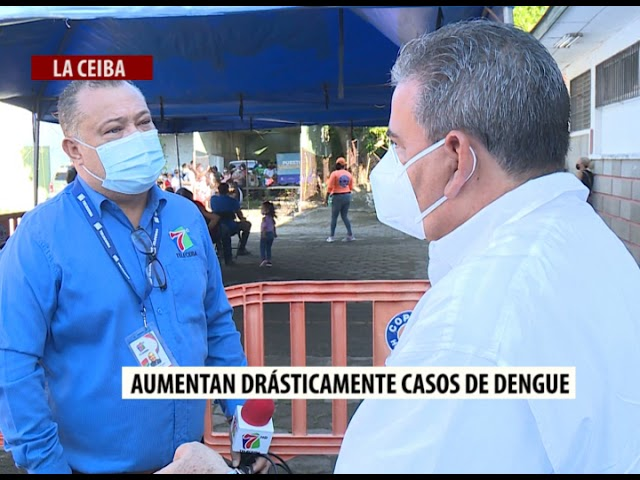 Aumentan drásticamentelos casos de Dengue