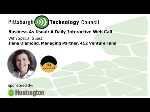 412 Venture Fund's Ilana Diamond Goes Live on Business as Usual