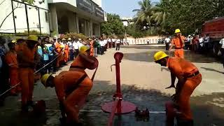 Fire fighter competition in mumbai