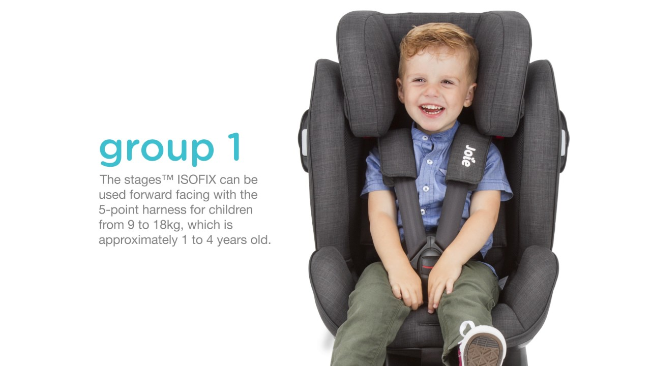 Joie Stages™ ISOFIX Installation Video - YouTube