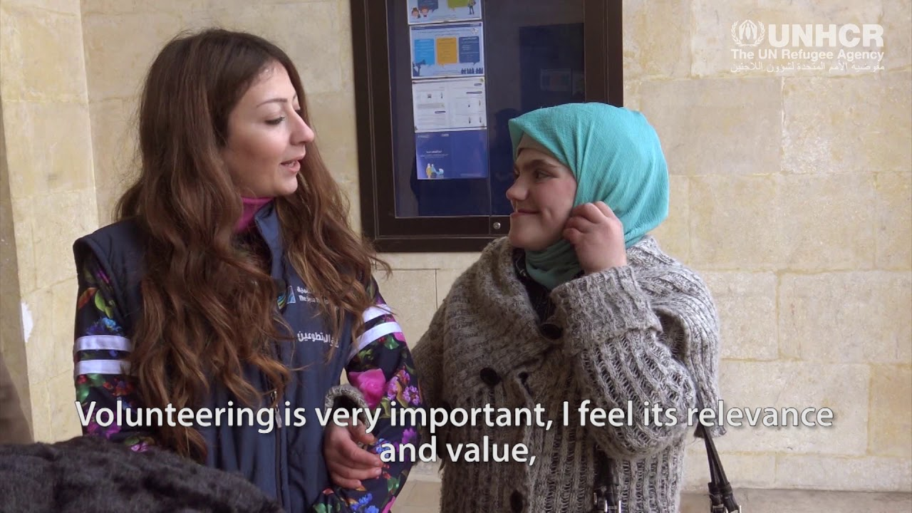 Dreams changed – Syrian outreach volunteers look at the bright side