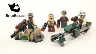Lego Star Wars 75164 Rebel Trooper Battle Pack - Lego Speed Build