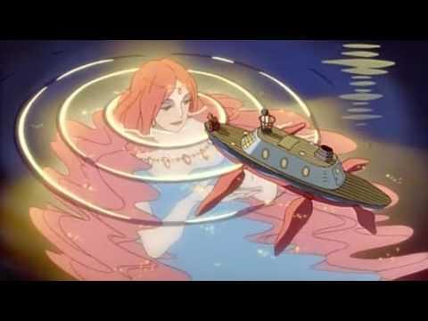 Мультфильм рыбка поньо на утесе