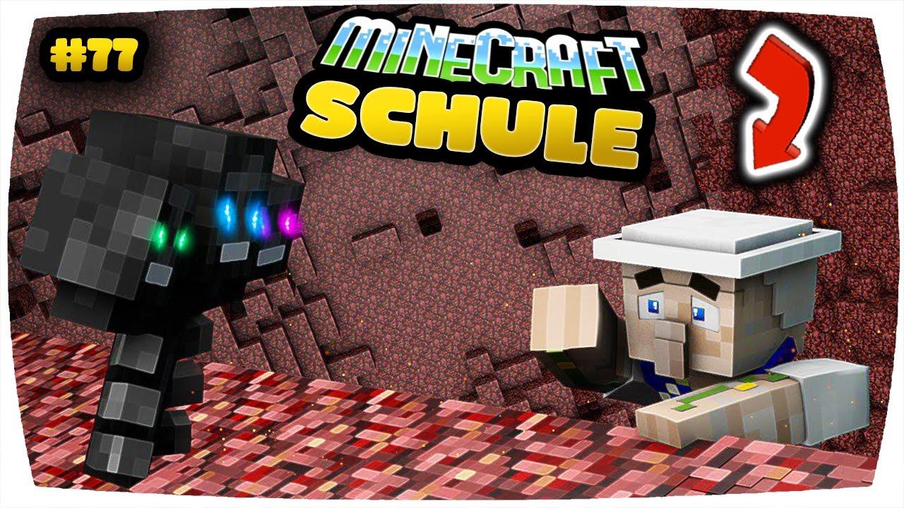 Minecraft Schule Das Ende Ich Bin Tot �� Minecraf
