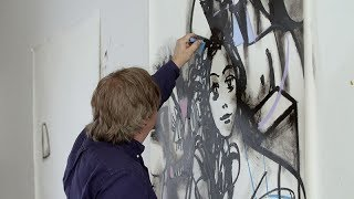 george condo the artist at work