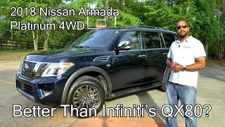 Gambar cover 2018 Nissan Armada Platinum 4WD Review - Better Than Infiniti's QX80?