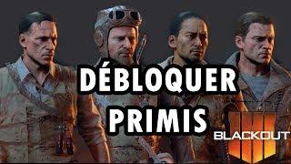 Blackout — Débloquer Richtofen, Nikolai, Takeo & Dempsey Primis
