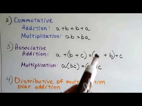 Algebra I #2.10b, Field Axioms for rational numbers & Closure Property