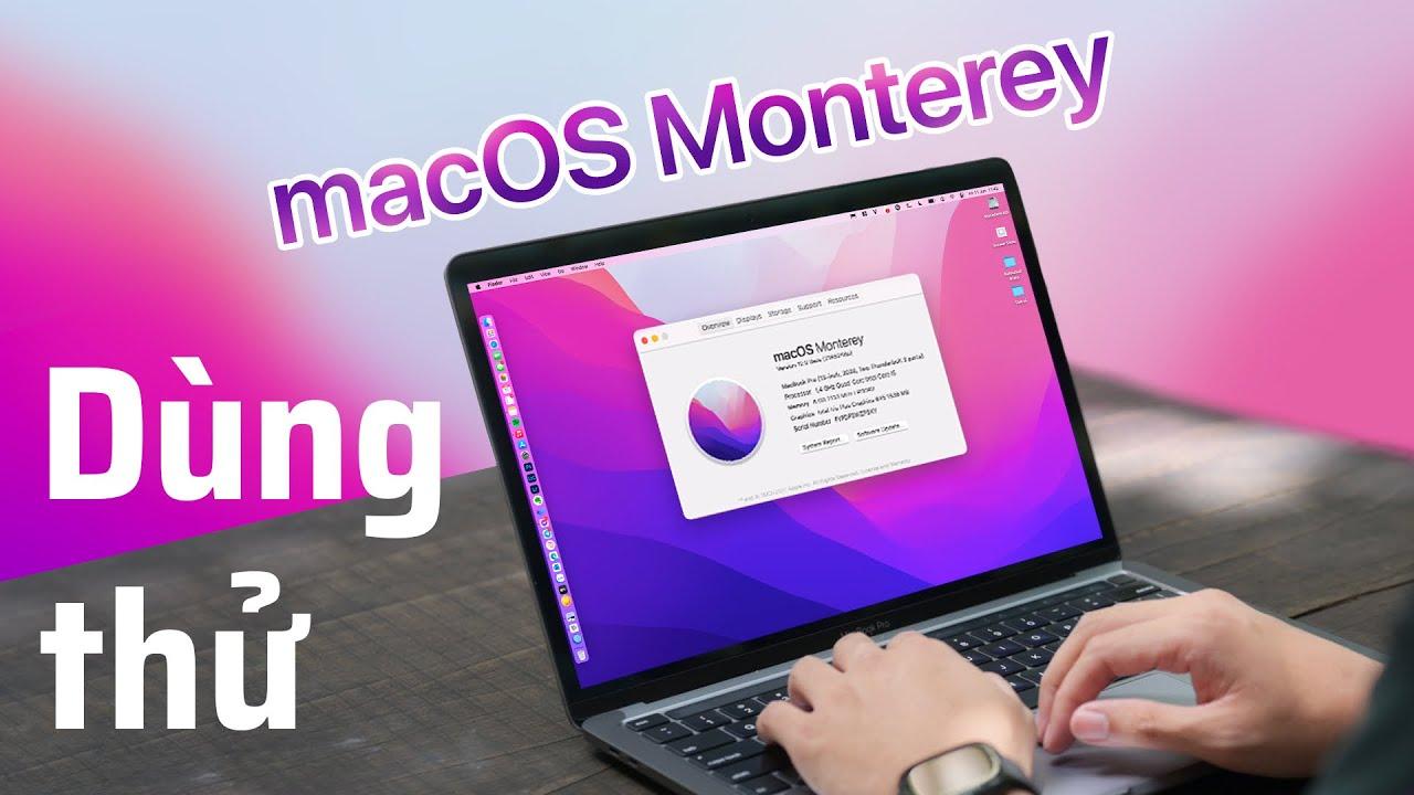 Dùng thử macOS 12 Monterey Dev Beta