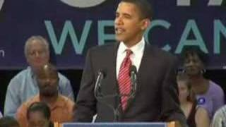 Obama Gives Hillary the Finger