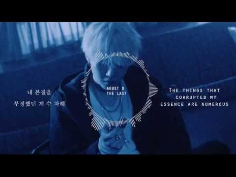 Agust D (BTS' SUGA | Min Yoongi) - 마지막 (The Last) [HAN-ENG Lyrics]