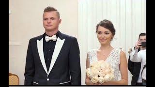 Эксклюзивные кадры со свадьбы Костенко и Тарасова