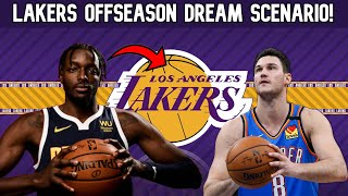 Los Angeles Lakers DREAM Offseason Scenario! Lakers Free Agency, Trades, NBA Draft, and More!