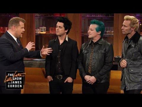Chatting with Green Day