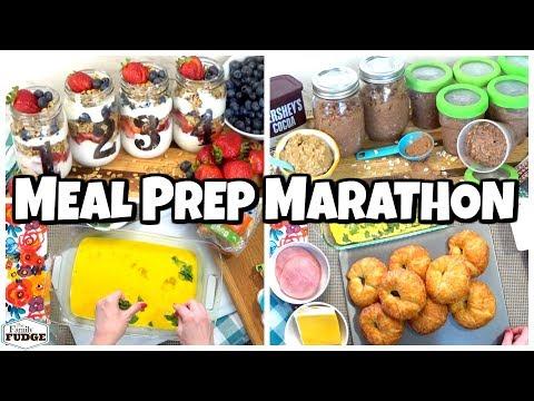 MAKE-AHEAD Breakfast Marathon ☀️ 7 Ideas
